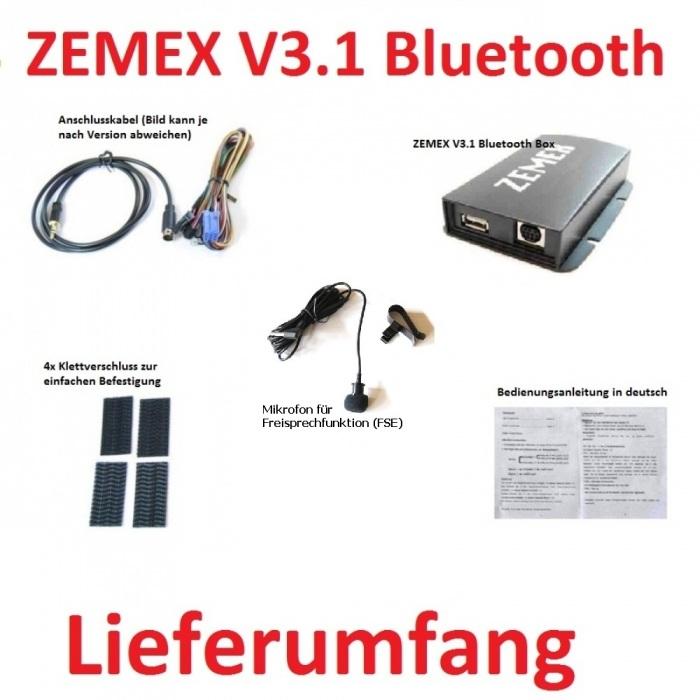 ZEMEX V3.1 Lieferumfang