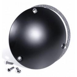 Kupplungsdeckel Domed schwarz - Harley Evo Shovel