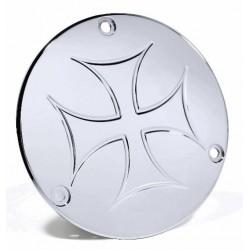 Kupplungsdeckel Eisernes Kreuz - Harley Evo Shovel