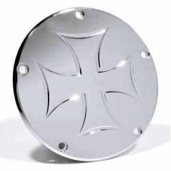 Kupplungsdeckel Eisernes Kreuz - Harley Twin Cam