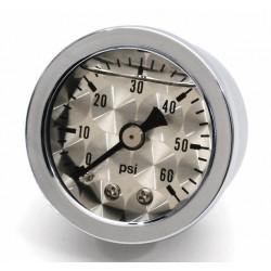 Öldruckmanometer silber 60psi