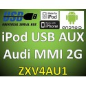 V4 USB iPod iPhone iPod Android Adapter Audi MMI Basic & High 2G