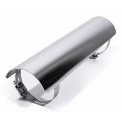 Hitzeschutzblech Chrom Glatt 250mm