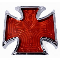 Rücklicht Eisernes Kreuz rot LED ECE