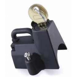 Helmschloss schwarz 22 mm - 32 mm