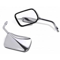 Spiegel Rectangle chrom 10 mm ECE