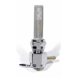 Benzinhahn H-D 13/16 Zoll links 90° eckig (8 mm)