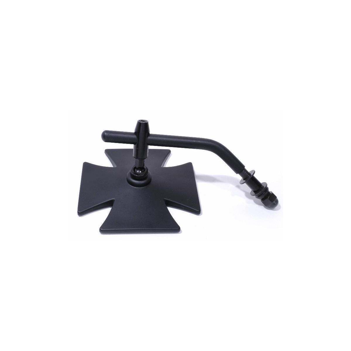 spiegel eisernes kreuz h d schwarz harley davidson motorrad zubeh r. Black Bedroom Furniture Sets. Home Design Ideas