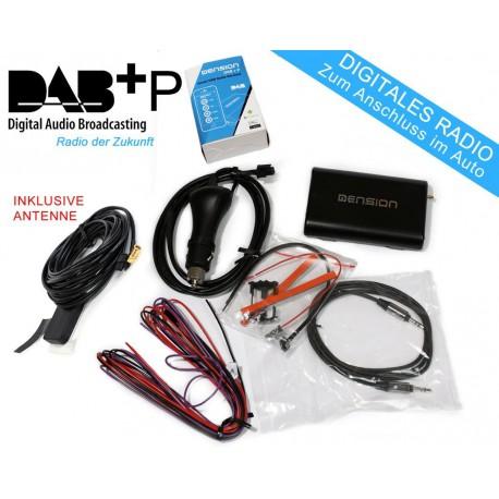 Dension DAB+P Tuner inkl. App für KFZ / AUX Anschluss / FM ...