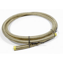 Stainless Steel Braided Teflon-Hose 9,5 mm / 180 cm