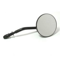 Spiegel rund schwarz für H-D