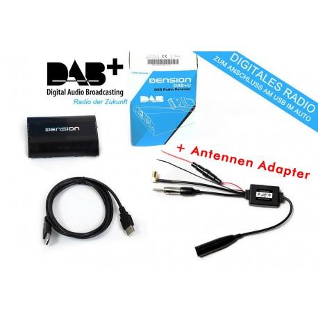 Dension Dbu1gen Dab Nachr 252 Stbarer Usb Radio Empf 228 Nger Antennenadapter