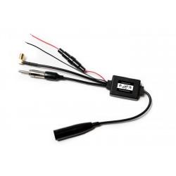 Zemex Antennensplitter AM / FM / DAB+ mit Verstärker