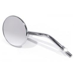 Mirror round chrome 10 mm thread