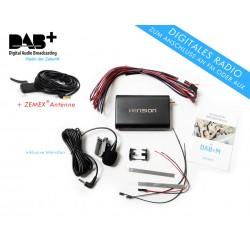 Dension DAB+M nachrüstbarer Radio Empfänger mit Mikrofon +ANTENNE