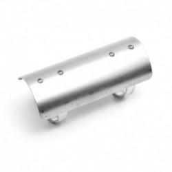 "Heat Shield for 2-¼"", 57 mm exhaust, 152 mm long, RAW"