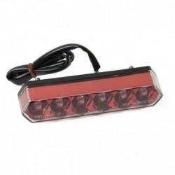 Streak LED-Rücklicht rot für Motorrad