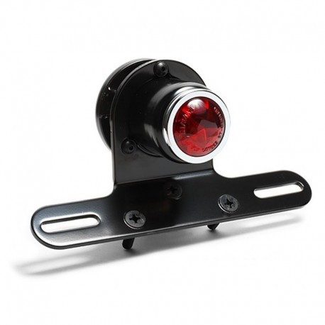 LED Taillight Retro with license bracket