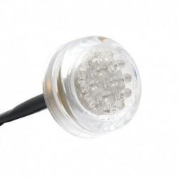 LED Rücklicht Mini - Klar - 30 mm Motorrad