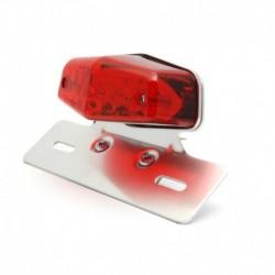 Lucas Style Rücklicht LED mit Kennzeichenhalter