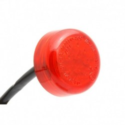 LED Rücklicht Mini - Rot - 30 mm