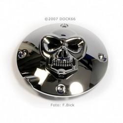 Kupplungsdeckel Skull für Harley Sportster 94 -03