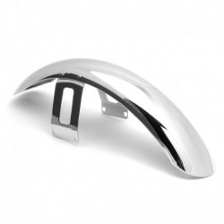 """Universal Front Fender chrome 19"""" Dyna Wide Glide & Softail"""