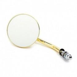 "Custom mirror round 3"" gold finish"