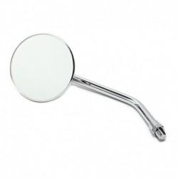 "Custom Mirror round 3"" chrome 10 mm thread"