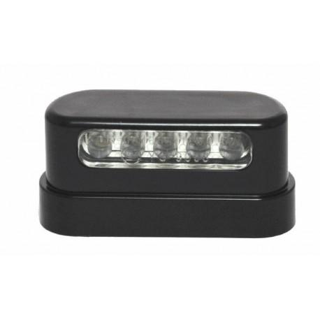 Kennzeichenbeleuchtung LED ABS Quader Schwarz