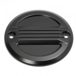 Zündungsdeckel Air Flow schwarz - XL ab 04 und Big Twin 70-99