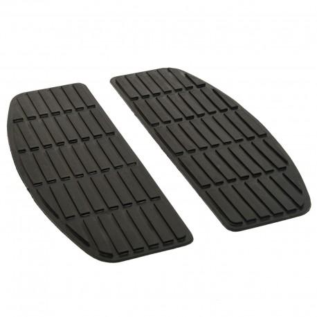 Trittbrettgummis Rectangular Ersatz Floorboard Replacement Pads für Harley