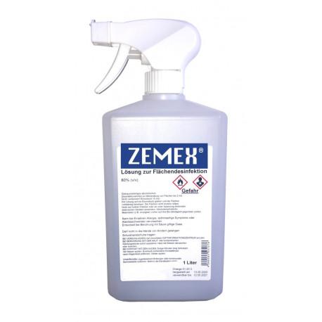 ZEMEX® Oberflächen Desinfektionsmittel WHO EN1500 1000ml Sprühkopf