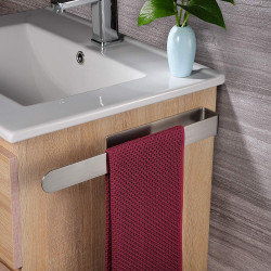 ZEMEX® Bad Handtuchstange Handtuchhalter Edelstahl Selbstklebend 37cm