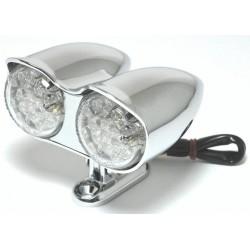 Rücklicht LED Twin Style chrome