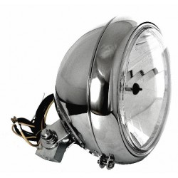 7 Zoll Scheinwerfer Klarglas chrom