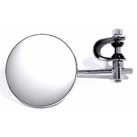 spiegel rund m lenkerklemme harley davidson zubeh r bobber chopper custombike yamaha bmw triumph. Black Bedroom Furniture Sets. Home Design Ideas