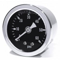 Öldruckmanometer schwarz 60psi
